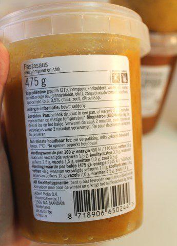 Écht verse pastasauzen en curry's van Albert Heijn