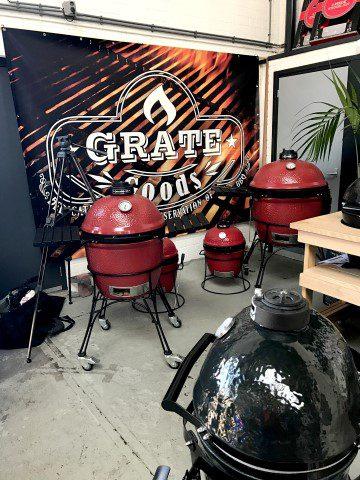 Opening van het barbecue seizoen bij Harlem BBQ in Haarlem