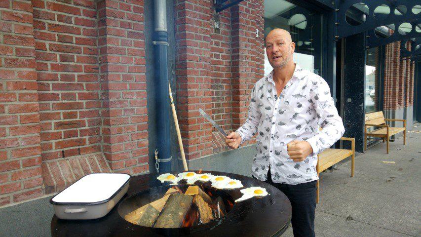 Boekpresentatie Zeelust, BASE Cooking Store & visafslag IJmuidenBoekpresentatie Zeelust, BASE Cooking Store & visafslag IJmuiden
