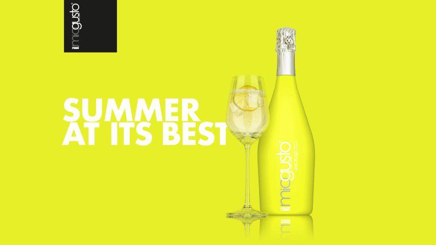 Limonsecco - In Italië en in het bijzonder het gebied in de heuvels rondom de stad Conegliano ligt de inspiratie voor il miogusto. De geur en smaak van de wijnen uit dit prachtige gebied zijn zintuig strelend. Dat inspireerde tot de creatie van van il miogusto een wijn met als basis de authentieke smaak Prosecco maar dan in een modern jasje.