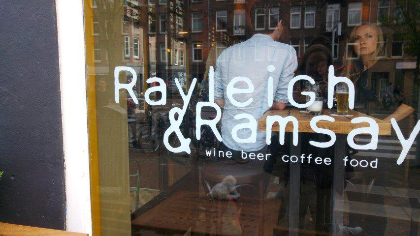 Rayleigh & Ramsay; tap nu zelf je glas wijn!