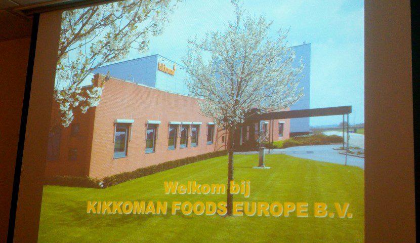 Bezoek Kikkoman brouwerij Hoogezand-Sappemeer