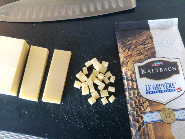 Bruschetta met Emmi KALTBACH Le Gruyère AOP