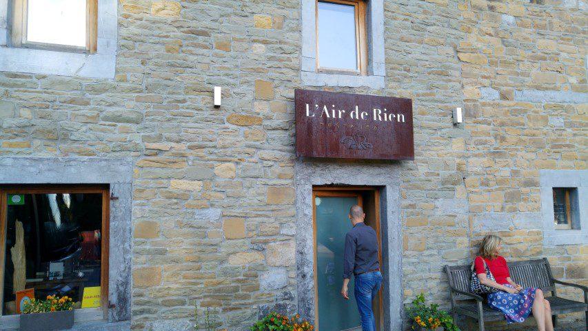 Restaurant L'air de Rien -Stéphane Diffels
