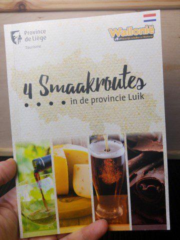 4 smaakroutes in de provincie Luik