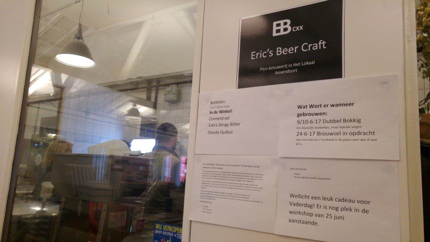 Food & Biertour door Amersfoort - Het Lokaal - Eric's Beer Craft