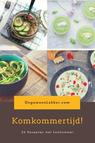 Komkommertijd! 26 Recepten met komkommer