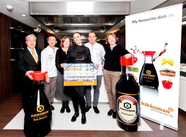 Winnaar Kikkoman receptenwedstrijd 2016