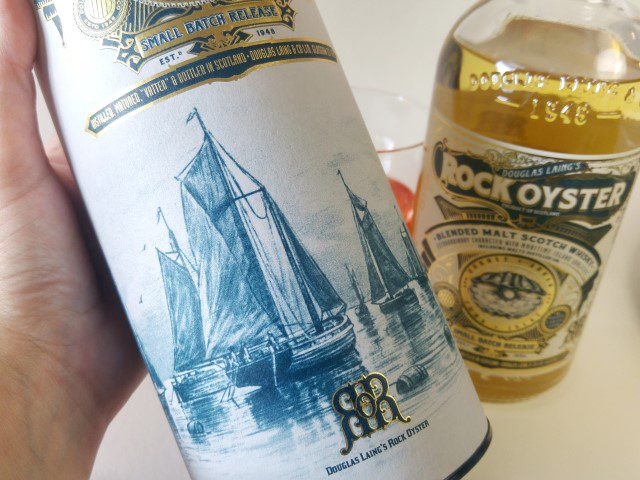 Rock Oyster Blended Malt Scotch Whisky - Bloody nail cocktail