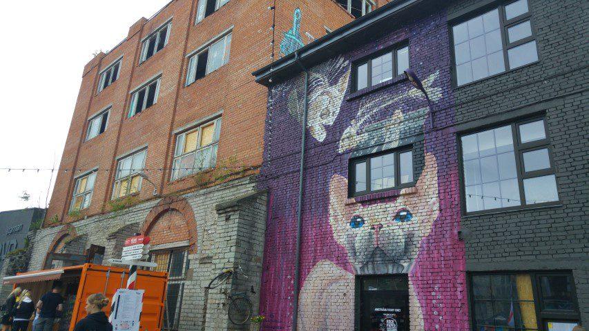 Telliskivi Tallinn streetart