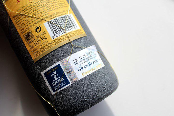 Faustino I Gran Reserva wijn-spijs tips