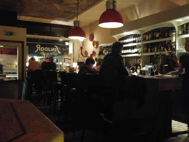 Restaurantkaart - Restaurant Sinjoor