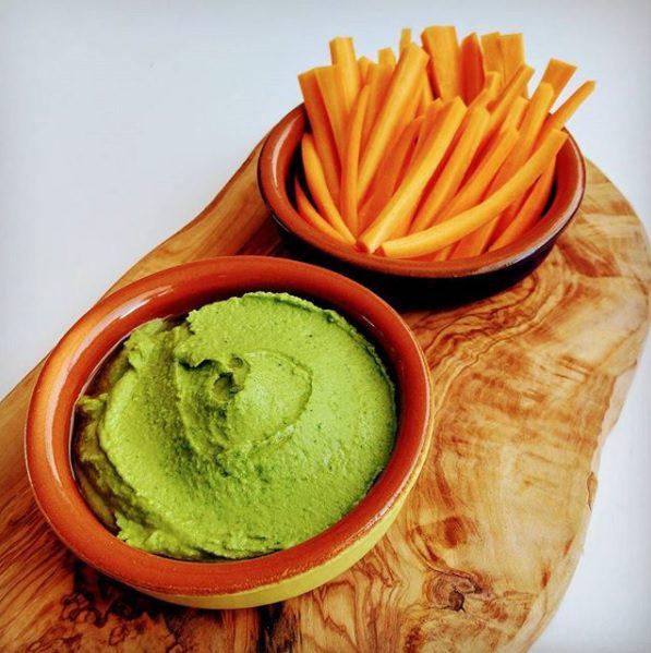 Mooi groen is niet lelijk: Spinazie hummus