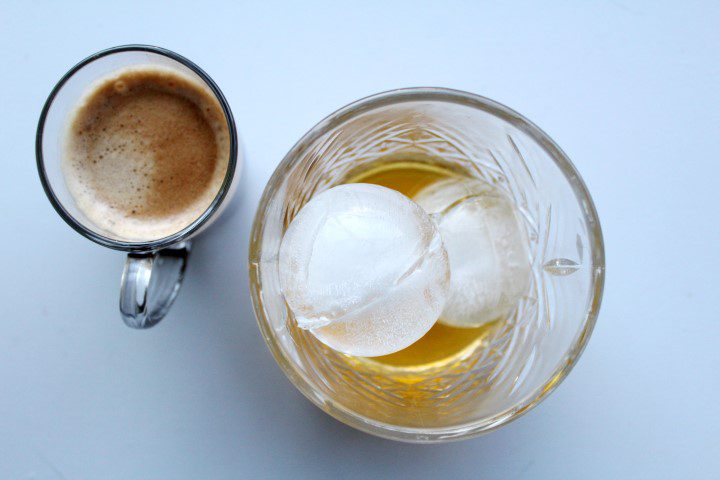 Carajillo koffie/Licor 43 cocktail