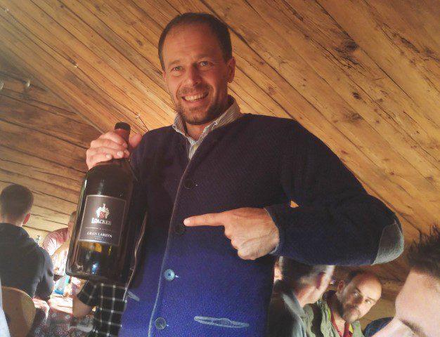 Een wijnproeverij op de Alpe di Siusi!