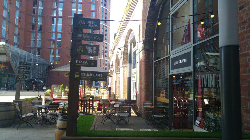 Leeds tips: Granary Wharf
