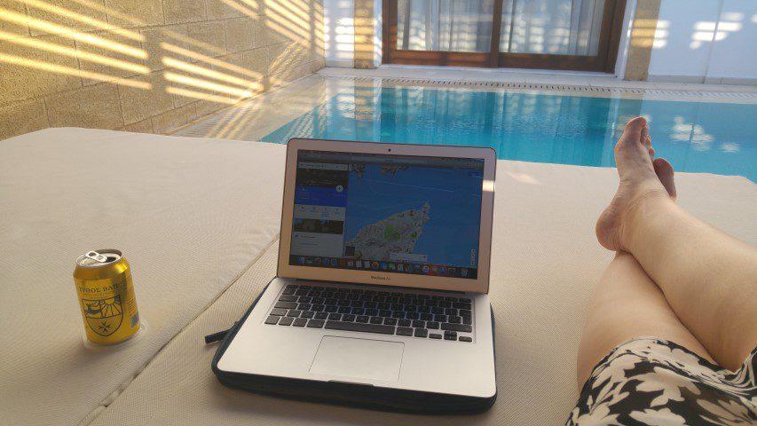 Lindian Village Rhodos - Junior Suite met prive zwembad