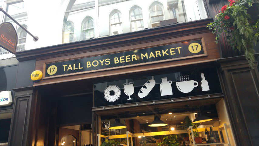Tips Leeds: Tall Boys Beer Market