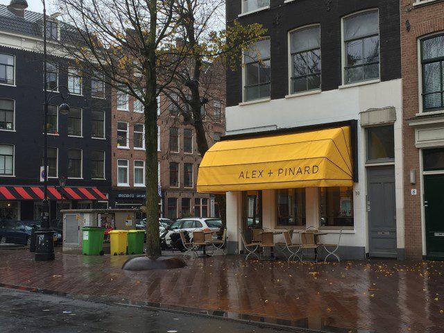 Toerist in eigen Land: Amsterdam - Alex + Pinard