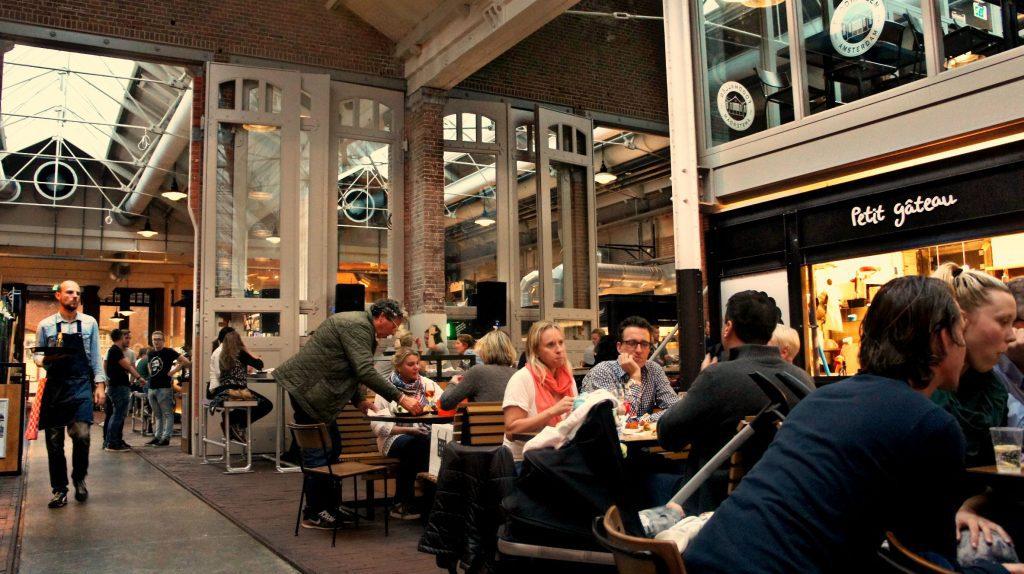 Toerist in eigen Land: Amsterdam - Foodhallen