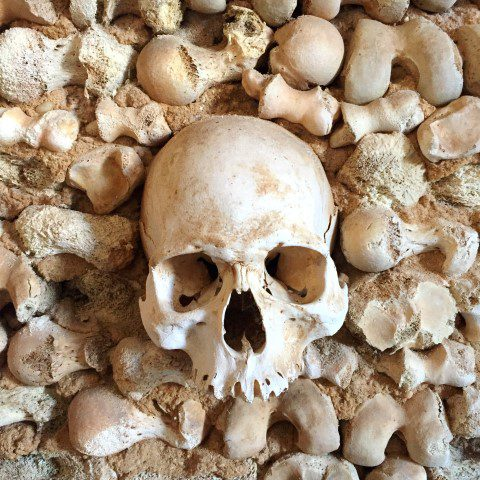 Food Tour in Faro: Capela dos Ossos (Bone Chapel)