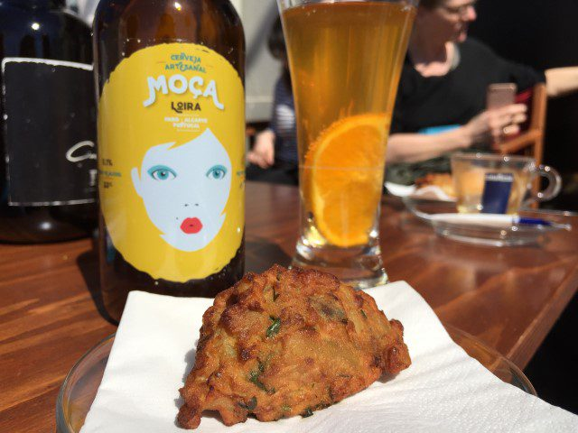 Petisco Food Tour in Faro: Pastel de lingueirão