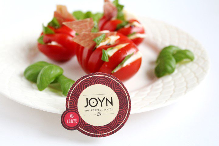 Tomaten Hasselback met Italiaanse ham