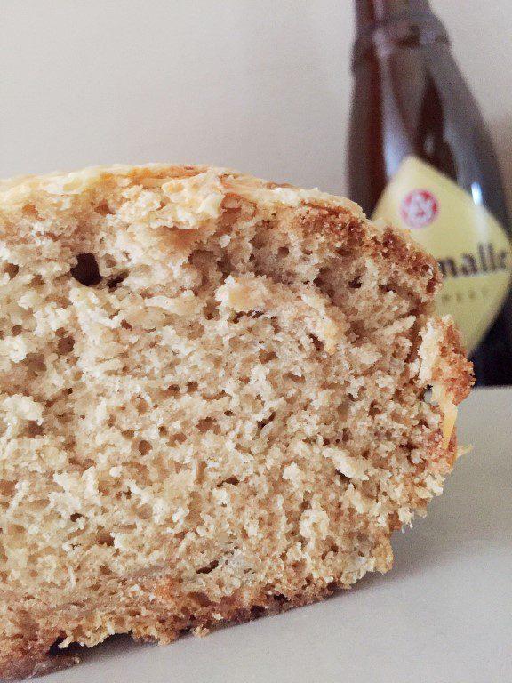 Westmalle bierbrood (met jalapeño pepers)