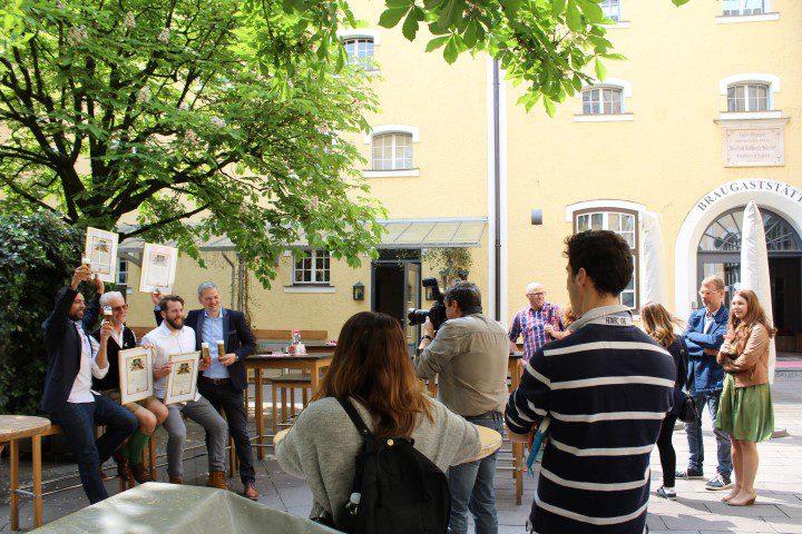 Elk jaar is er een competitie voor het beste bierrestaurant in Salzburg is.