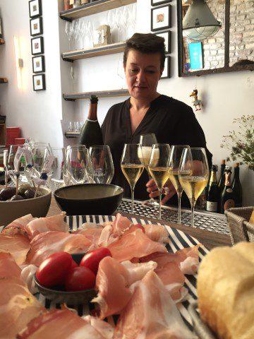 Eten, drinken en slapen in Düsseldorf - Weinbar Eiskeller