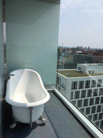 Eten, drinken en slapen in Düsseldorf - 25Hours Hotel