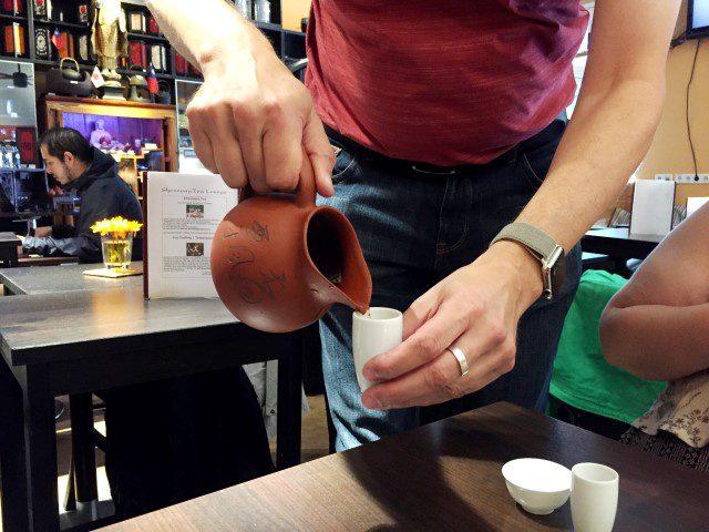 Eten, drinken en slapen in Düsseldorf - Shennong Tea Lounge