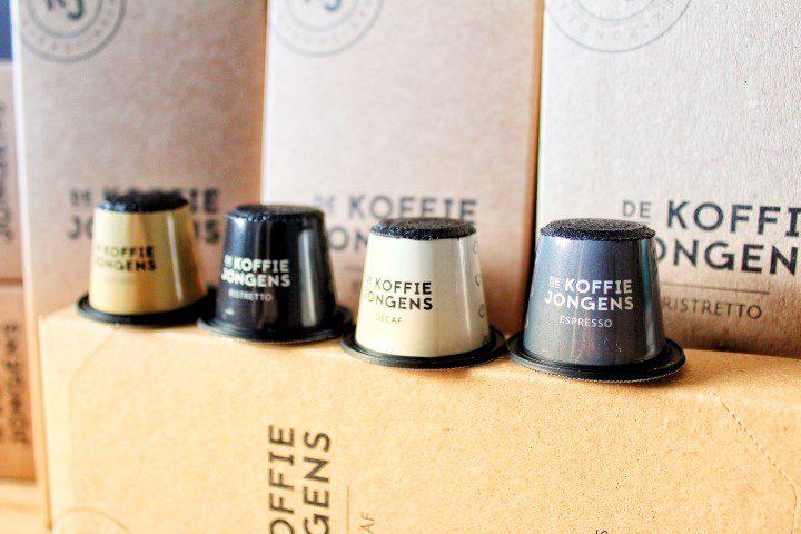 De koffie van de Koffiejongens