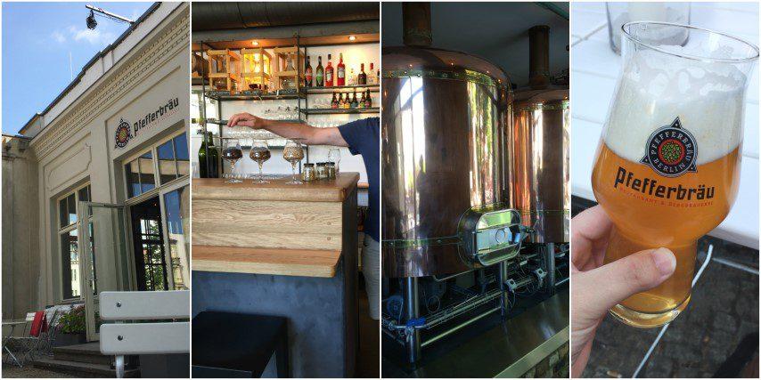 16x Bier drinken in Berlijn! - Pfefferbrau
