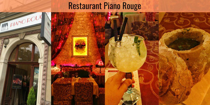 Restaurant Piano Rouge