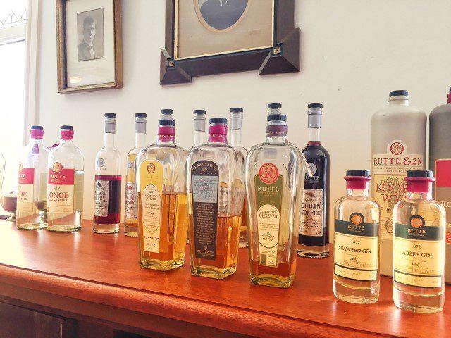 Op food/jenever/gin-tour met de Rutte Distilleerderij!