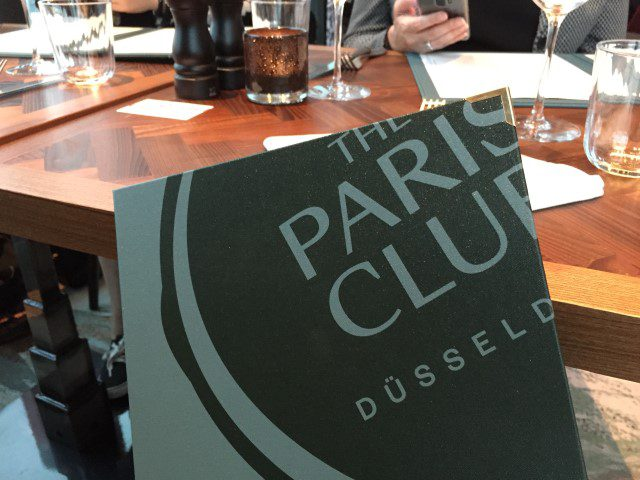 The Paris Club Restaurant Düsseldorf