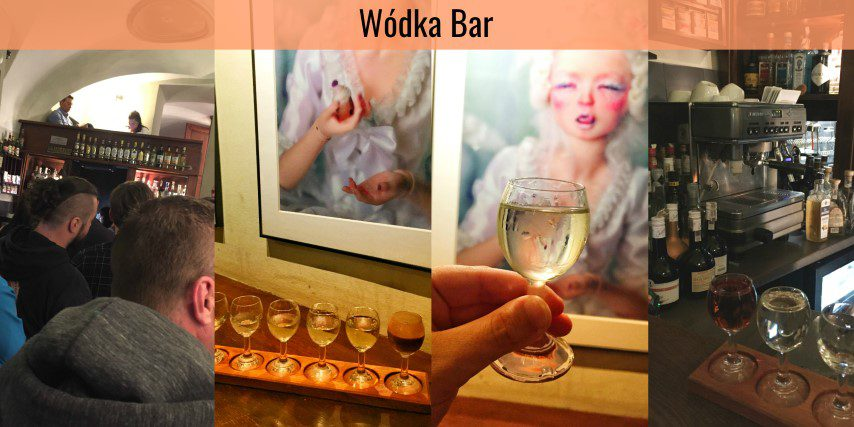 Wodka Bar, Krakau Polen