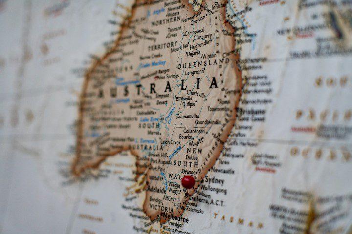 Reizen naar wijnland Australië