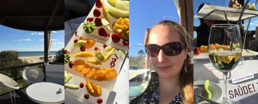 Wat te doen in de Algarve? Wijntjes drinken bij Pezinhos N'Areia