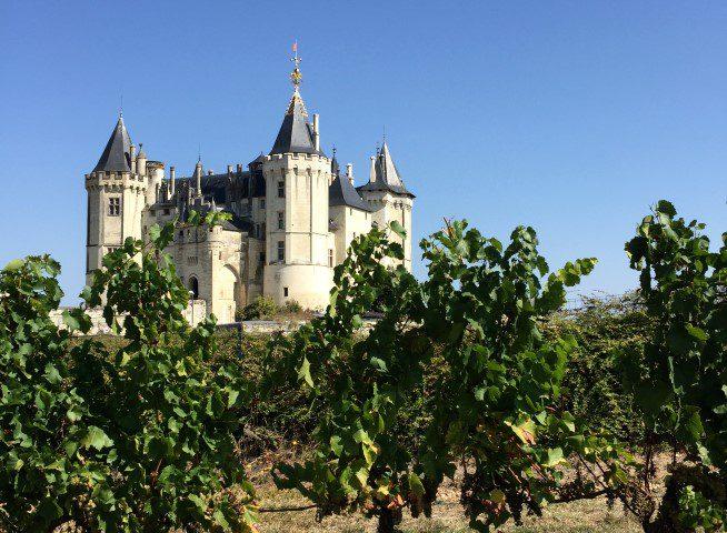 Heerlijke wijnen in de Loire - Château de Saumur