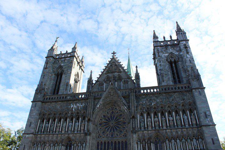 Trondheim - perfect voor een culi stedentrip = Nidaros Kathedraal