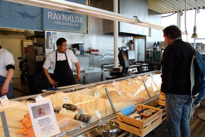 Trondheim - perfect voor een culi stedentrip = Ravnkloa Fish Market