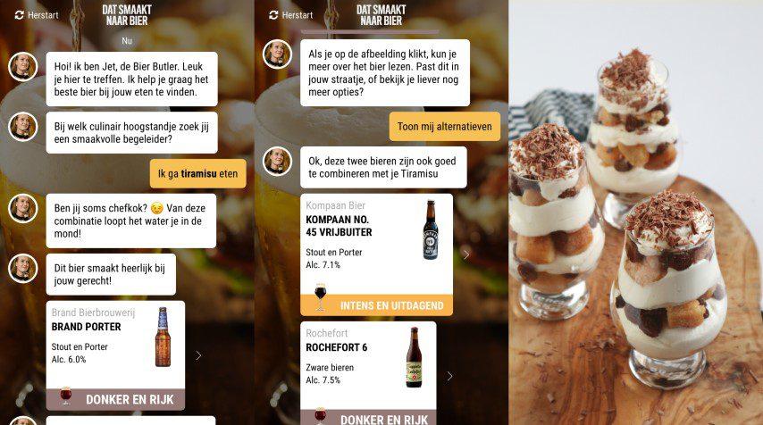 Bier Butler App - Tiramisu met Rochefort 6