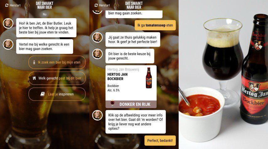 Bier Butler App - Tomatensoep met Hertog Jan Bockbier