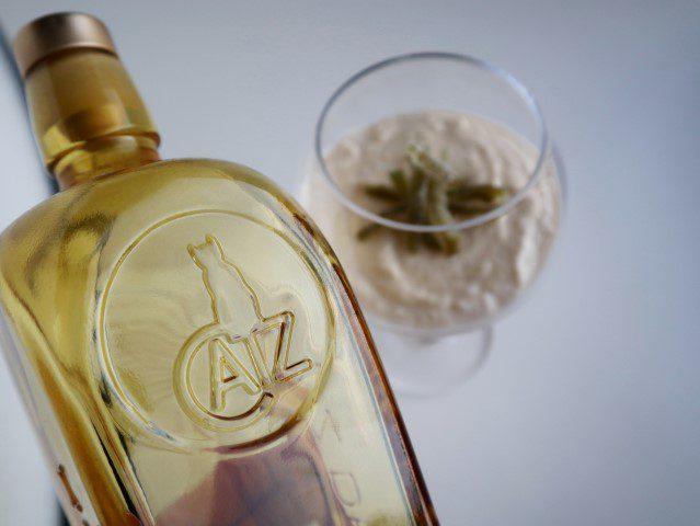Gin mousse met gekonfijte limoen