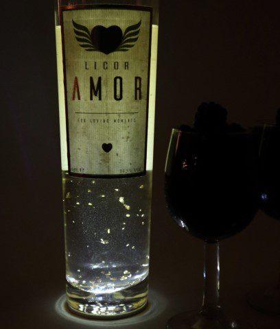 Licor Amor; een bijzondere likeur om te liefde mee te vieren!