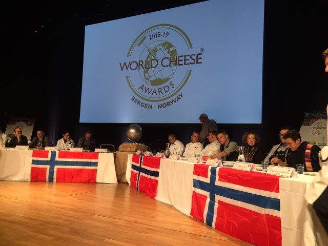 Op bezoek bij: The World Cheese Awards 2018 in Bergen Noorwegen