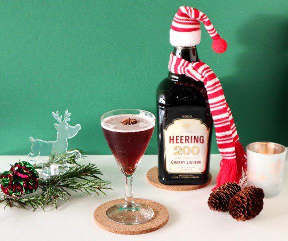 Kerst cocktails - Xmas Martinez