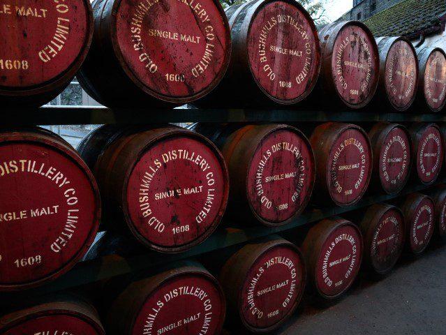 De smaken van Noord-Ierland - Bushmills Whiskey Distillery